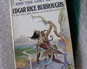 Tarzan and the Lost Empire by Edgar Rice Burroughs Ace Paperback Book