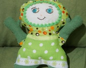 Custom made Marmushka Doll, one of a kind. A unique present. This one's custom made