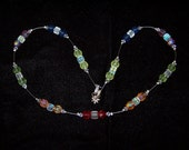 Liquidation SALE Rainbow Crystal Necklace