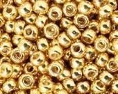 Seed Beads-11/0 Round-PF557 Permanent Finish-Galvanized Starlight-Toho-16 Grams