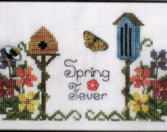 Spring Fever - Brittercup Designs - Easy Cross Stitch