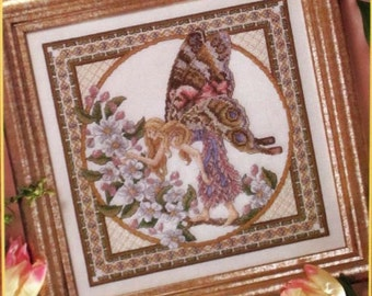Spring Faerie - Teresa Wentzler - OOP - Cross Stitch Chart - Just CrossStitch