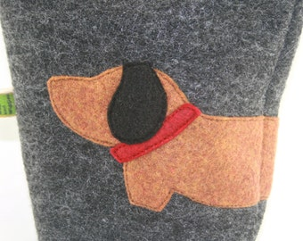 Poop Bag Holder Small Leash Bag Doxie