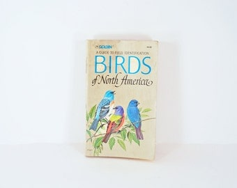 Vintage Birds of North America paperback book 1966 edition