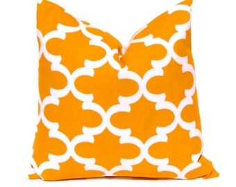 burnt orange pillow cover decorative throw pillow cover fall pillows pumpkin orange and