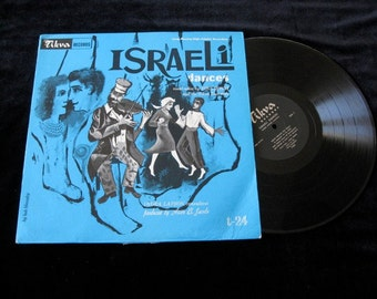 Israeli Dances  Vintage vinyl  Record Album  Lp  Jewish