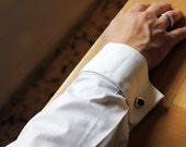 Wedding Cufflinks, Groom Cufflinks, Custom Bride And Groom Initials