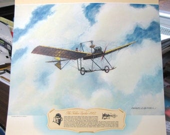 1912 Anthony Fokker Spider Wire Monoplane Antique Aviation Early Flight Planes