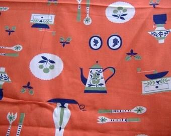 One Yard Vintage Kitchen Fabric