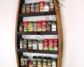 "SPICE RACK - ""Thyme"" - Large Spice Rack made from 100% recycled"