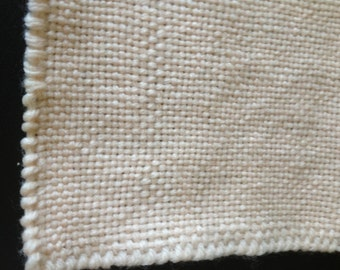 Set of 48 Light Pink Hand Crocheted Squares