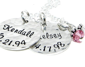 Personalized Necklace - Hand Stamped Jewelry