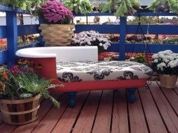 Items Similar To Clawfoot Bathtub Couch On Etsy