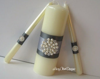 Unity Candles, Wedding Unity Candle Ceremony Unity Candles Set, Custom Made