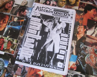 NECRONOMICON Issue 21 UK horror fanzine zine Jan 2012 human centipede 2 cronenberg carpenter