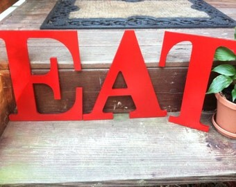 Large Letters, Wall Decor, Wood Letters, PIck YOur ColOR and PIck YOuR lETTer