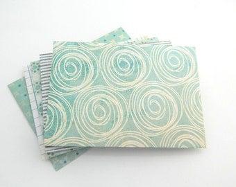 Party Colorful Envelopes - Set of 10 - Linen Envelope, Handmade Envelopes, Paper Envelopes, Green, Olive, White, Blue, Gift Card Envelope