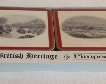 British Heritage Coasters by Pimpernel North Wales Series