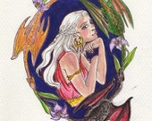 Mother of Dragons - 4 x 6 in. print