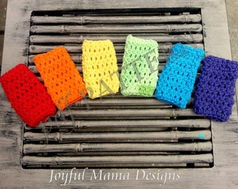 PATTERN for Crochet Ice Pop Holder--permission to sell finished product