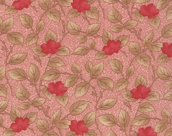 Lario - Leafy Blooms in Blush by 3 Sisters for Moda Fabrics