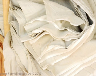 Cotton fabric. 44 inches wide. Organic Cotton Fabric Yardage - Pepper Tea. Angels Breath Cotton.