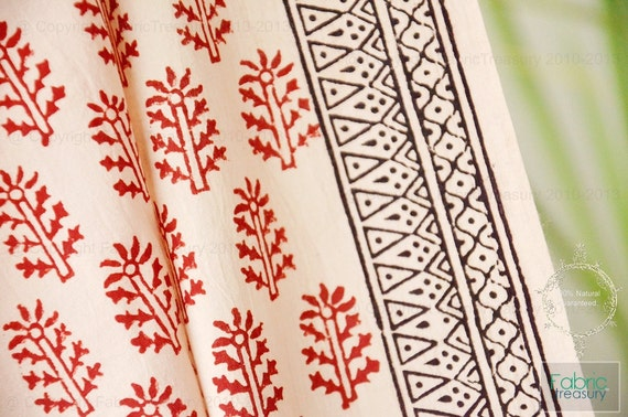 Marvelous Block Print Curtains Block Print Curtains