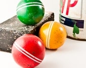 Vintage Croquet Balls Instant Collection Summer Trends For Home Unique Unusual Finds Mother's Day Gift