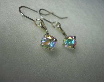 Mercury Mystic Topaz Gemstone Earrings