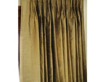 Curtains Ideas blackout pinch pleat curtains : Pinch pleat drapes | Etsy