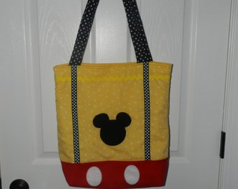 Mickey Mouse Tote/Diaper Bag