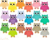 Owl Clip Art Chevron Owl Clipart Digital Scrapbooking CU Ok Instant Download