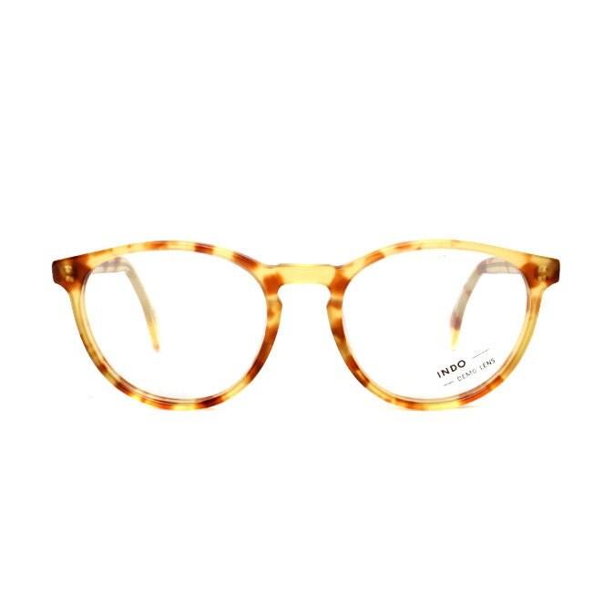Light Brown Tortoise Transparent Vintage Eyeglasses ...
