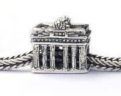 Brandenburg Gate Landmark Charm Beads Sterling Silver LM030