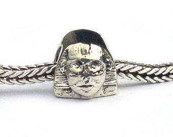 Sterling Silver Sphinx Landmark Charm Bead LM011