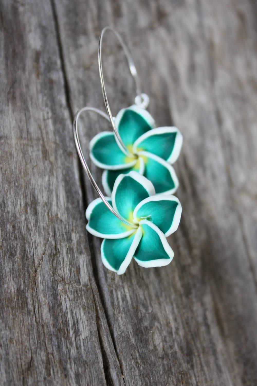 Flower Earrings Hawaiian Jewelry Hawaii Jewelry Hawaiian