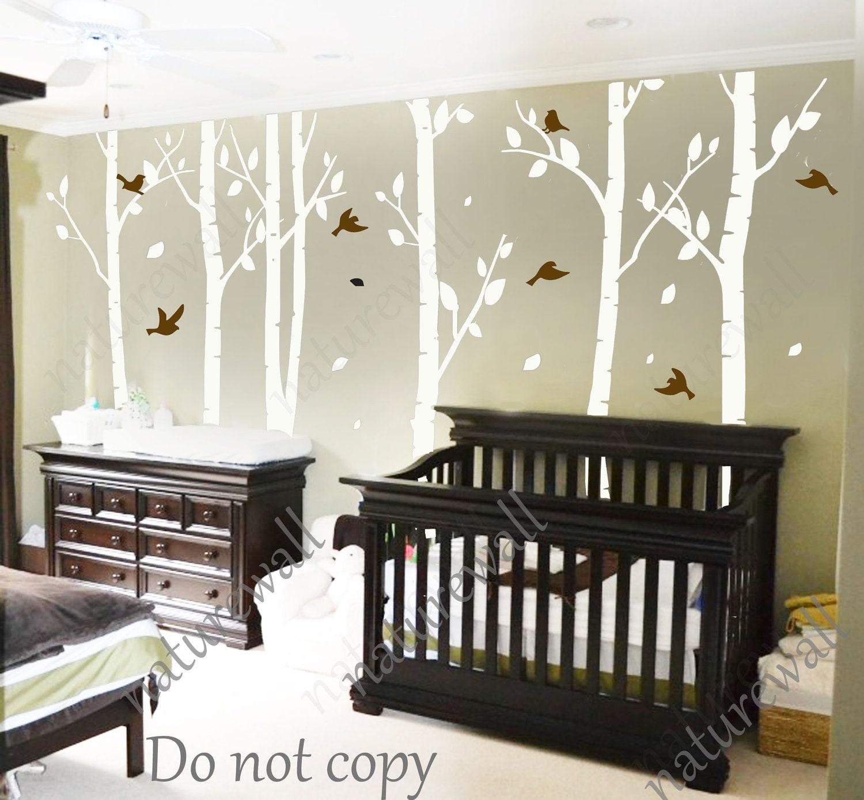 Tree Decals nursery decals Kids wall decals baby decal ...