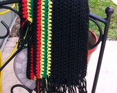 Black Afro Scarf