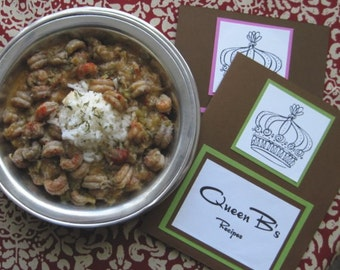 DIY Recipe for Crawfish Etouffee in Queen B's Recipe Folder
