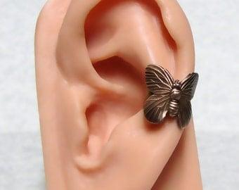 Forest Butterfly Ear Cuff