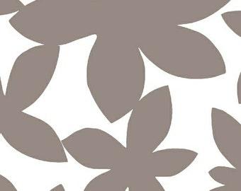 Lotta Jansdotter, Glimma, Modern Fabric, Marby Flannel, Grey, One Yard