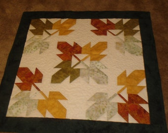 Autumn Leaves Wall Hanging/Table Topper