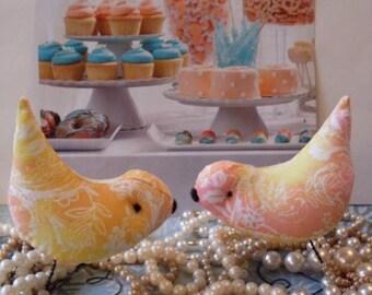 Wedding Cake Topper Love Birds Summer Elegance LJO Collection