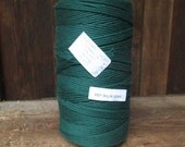 RESERVE LISTING for Kate Dobbs - 8/16 Mop Cotton Yarn - Forest Green