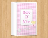 Pink Pregnancy Journal, printable