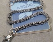 Stainless Steel Persian Dragon Wallet Chain