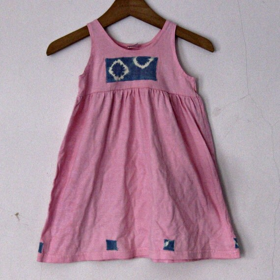 Pink Dress 18 months Cotton Sundress