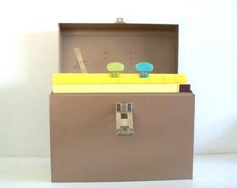 File It - Curmanco Industrial Metal File Storage Box With Key