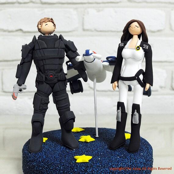Mass Effect Cake Topper