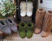 moonkoosa boots knitting pattern